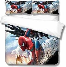 XWXBB Spider-Man - Juego de ropa de cama para