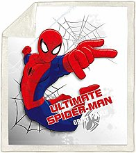 XWXBB Spiderman - Manta de forro polar para