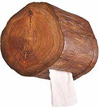 XZJJZ Portapapel higiénico-Portapapel de bambú