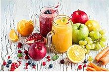 YABINGA Impresión de Lienzo imágenes de Manzana