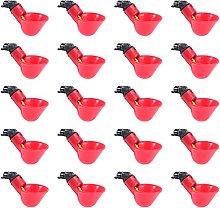 Yardwe 10 piezas de bebedero automático de pollo