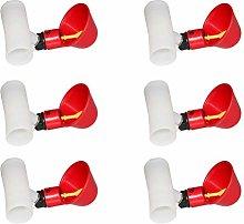 Yardwe 10 tazas automáticas de plástico para