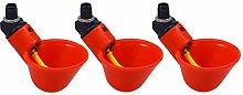 Yardwe 3 tazas automáticas de plástico para