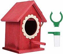 YARNOW Casa de Madera para Pájaros Pajarera