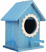 YARNOW Casa de Pájaros de Madera Pajarera