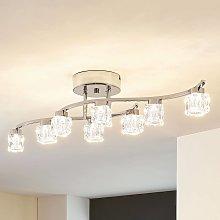 Yaro - lámpara LED de techo atenuable, 8 brazos