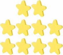 YAVSO Pomos y Tiradores, 10pcs Estrella Pomos
