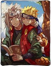 YEE Naruto Uzumaki Naruto y Jiraiya Anime Manta