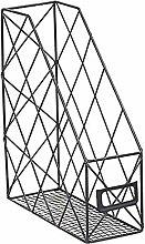 Yissma Estante para periódicos de metal,