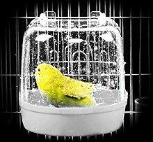 YITON Bañera Pajaros Bañera De Agua Colgante