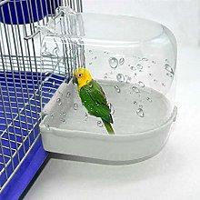 YITON Bañera Pajaros Bañera para Pájaros Caja