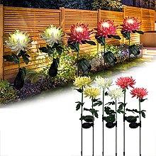Ylight 6Pack Exterior Flores de Luces solares,