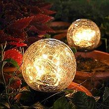 Ylight Luces Solares De La Bola del Jardín, Solar