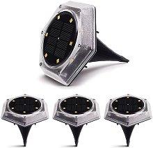 Ylight Luces solares de Tierra, 12 Luces LED de