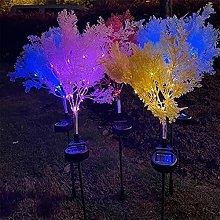 Ylight Luz Solar de la Flor, Luz Impermeable de la