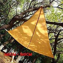 YMYGBH Toldos Sombra Exterior Triangle Sun Refugio