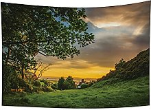 YongFoto 100x70cm Paisaje Tapiz, Tapices De Sunset