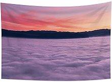 YongFoto 150x100cm Paisaje Tapiz, Sunset Glow