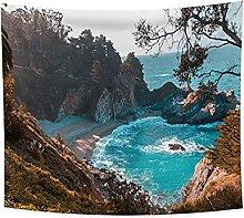 YongFoto 150x130cm Paisaje Tapiz, Tapices Con