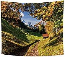 YongFoto 150x130cm Paisaje Tapiz, Tapices De