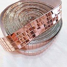YONGPAN Mini cristal cuadrado autoadhesivo, 1000