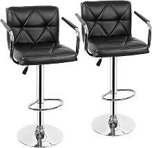 Yongqing - 2x taburetes de bar,silla de bar con