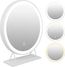 Yongqing - Espejo de maquillaje con Luz, Espejo de