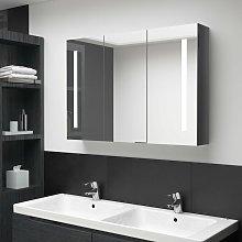 Youthup - Armario cuarto de baño con espejo LED