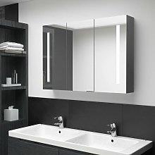 Youthup - Armario de cuarto de baño con espejo y