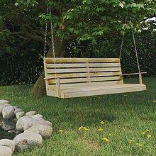 Youthup - Banco balancín de madera de pino