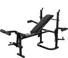 Youthup - Banco de pesas de gimnasio negro - Negro