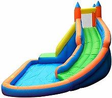 Youthup - Castillo de agua inflable para niños -