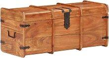 Youthup - Cofre de almacenamiento madera maciza de