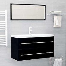 Youthup - Conjunto de muebles de baño 2 piezas