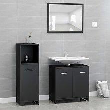 Youthup - Conjunto de muebles de baño 3 piezas