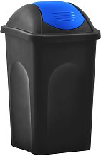 Youthup - Cubo de basura con tapa oscilante 60 L