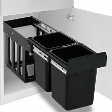 Youthup - Cubo de basura para reciclaje extraíble