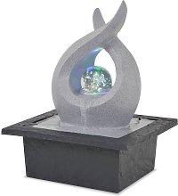 Youthup - Fuente de agua de interior con luz LED