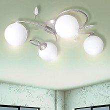 Youthup - Lámpara colgante con bolas de cristal