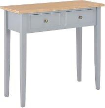 Youthup - Mesa consola tocador de madera gris