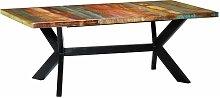 Youthup - Mesa de comedor madera maciza reciclada