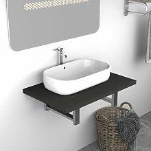 Youthup - Mueble de cuarto de baño gris