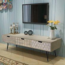 Youthup - Mueble para la televisión con 3 cajones