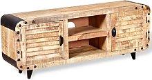 Youthup - Mueble para la TV de madera de mango
