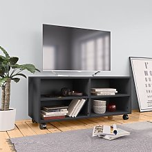 Youthup - Mueble para TV con ruedas aglomerado