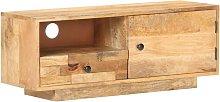 Youthup - Mueble para TV de madera de mango maciza
