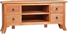 Youthup - Mueble para TV de madera maciza de caoba