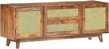 Youthup - Mueble para TV de madera maciza de mango