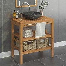 Youthup - Mueble tocador madera teca maciza con