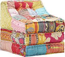 Youthup - Puf modular de tela patchwork -